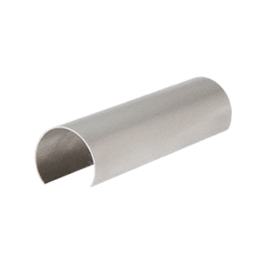 "CRL GR20CSS Stainless Steel 2"" Connector Sleeve for Cap Railing, Cap Rail Corner, and Hand Railing"