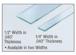 "CRL AT0201436 Transparent 1/4"" x .020"" x 36' Acrylic Very Hi-Bond Adhesive Tape"