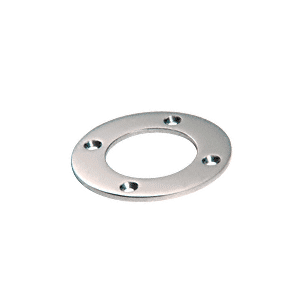 "CRL SA28PS Polished Stainless Round Base Plate for 2"" Round Tubing"