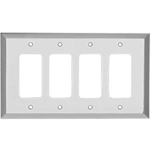 CRL MMP17CH Chrome Quad Designer Metal Mirror Plate