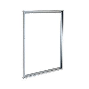 CRL D1950A Satin Anodized Custom Size Aluminum Mirror Frame