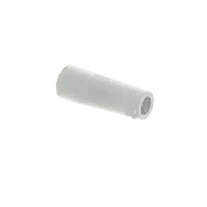 """CRL D1802 White Sliding Glass Door Bumper - 2-5/8"""" Length"""