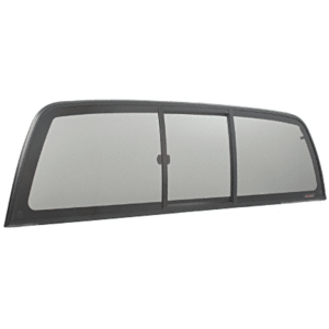 "CRL ECT1550S ""Perfect Fit"" Three-Panel Tri-Vent Sliders with Solar Glass for 1999-2006 Toyota Tundra"