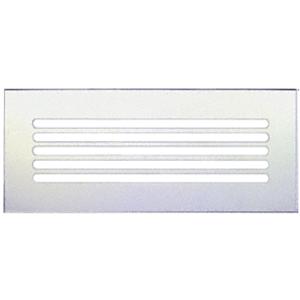 "CRL FMG1660 Clear Flat Acrylic 16"" x 6"" Mirror Grille"