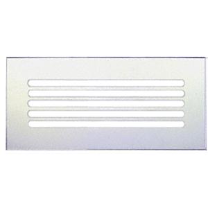 "CRL FMG1460 Clear Acrylic 14"" x 6"" Mirror Grille"