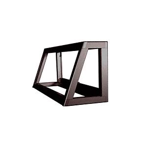 CRL D4350DU Dark Bronze Custom Size Newport Slant Front Showcase Frame