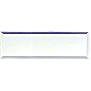 CRL MFPC8 Clear Acrylic Mirror Pull, Adhesive, by CR Laurence