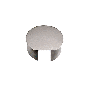 "CRL CR20ECBS Brushed Stainless 2"" CRS Top Rail End Cap"