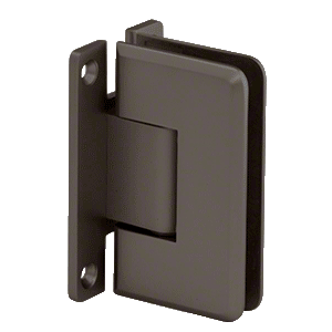 CRL C0L0370RB Oil Rubbed Bronze Cologne 037 Series Wall Mount Hinge
