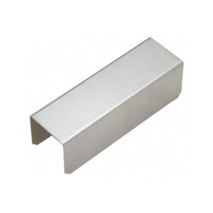 "CRL GRS15CSS 1-1/2"" Stainless Steel Square Connector Sleeve for Square Cap Railing, Square Cap Rail Corner, and Hand Railing"
