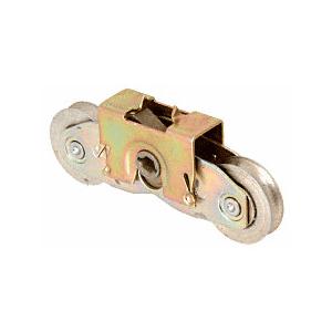 "CRL D1971 1-1/4"" Tandem Steel Ball Bearing Roller Assembly for Andersen Glass Doors"