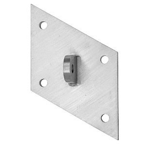CRL AW9CMBS Brushed Stainless Custom Mounting Plate
