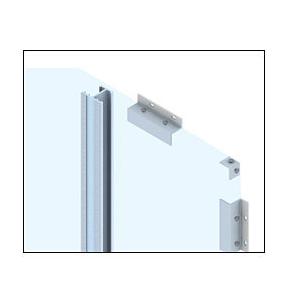 CRL EWS100CBBRZ Custom Brushed Bronze Standard Series Wall Panel System