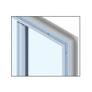 CRL PWS300CKN Custom KYNAR Paint Heavy Plate Series Wall Panel System