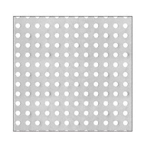 "CRL PN1814PC Custom Perforated Infill Panel - 1/4"" Round Straight Holes"