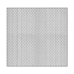 "CRL PN1818PC Custom Perforated Infill Panel - 1/8"" Round Holes"