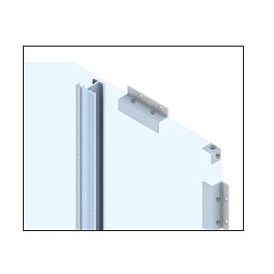 CRL EWS100CSA Custom Satin Anodized Standard Series Wall Panel System