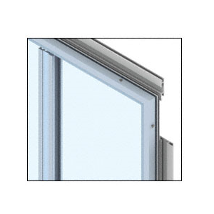 CRL PDS400CSM Custom Silver Metallic Premier Series Wall Panel System