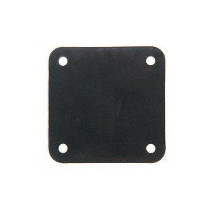 "CRL BPG1BL Black Moisture Barrier Gasket for 5"" x 5"" Base Plates"