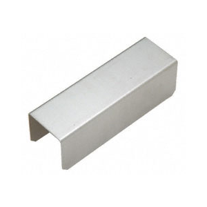 "CRL GRS20CSS 2"" Stainless Steel Square Connector Sleeve for Square Cap Railing, Square Cap Rail Corner, and Hand Railing"