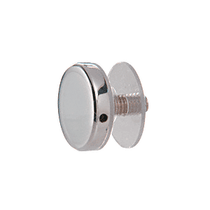 """CRL CAP1PS 316 Polished Stainless 1"""" Diameter Standoff Cap Assembly"""