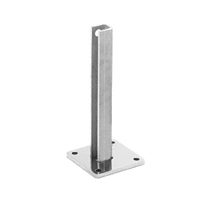 "CRL BPCST30 Steel Surface Mount Stanchion for up to 72"" Barrier Center Post"