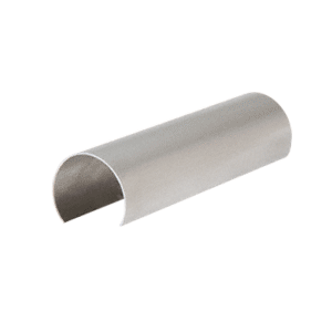 "CRL GR16CSS Stainless Steel Connector Sleeve for 1.66"" Cap Railing, Cap Rail Corner, and Hand Railing"