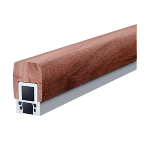 "CRL Blumcraft 597C Custom Color 597 Series 1-3/4"" x 2-3/4"" Wood Hand Railing"