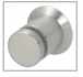 """CRL S0TP114BS Brushed Stainless Steel 1-1/4"""" Diameter Trim Plate for Standoff Bases"""