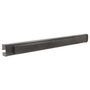 "1295 Push Pad Rim Panic Exit Device - Fluted Texture Extrusion, 'S' Type Strike, 36"", Bronze"