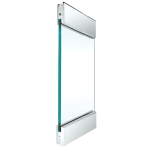 """Polished Stainless Type 1 Standard with 4"""" Square Rails Top and Bottom"""