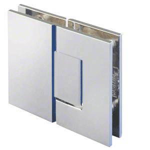 Chrome 180 Degree Glass-to-Glass Positive Close Vienna Hinge