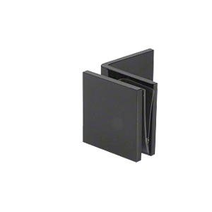Black Fixed Panel Square Clamp With Large Leg