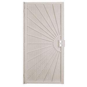 "Columbia 25163202 Sunset White 36"" x 80"" Security Door"
