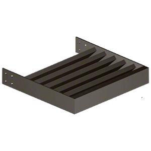 "Dark Bronze 1"" x 4"" Rectangular Tube Blade - Custom Length"