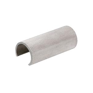 "CRL GR25CSM Aluminum Connector 2-1/2"" Sleeve for Cap Railing, Cap Rail Corner, and Hand Railing"