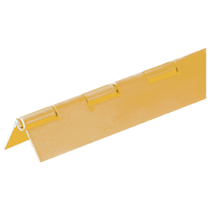 "CRL 6D665GA 6' Gold Anodized 3/4"" Aluminum Piano Hinge 72"" Stock Length"