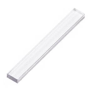 """CRL PSB125 Clear 1/8"""" x 1/4"""" x 2"""" Plastic Setting Blocks"""