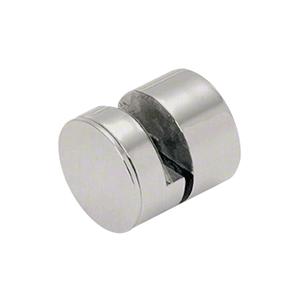 "CRL AEG114BS 1-1/4"" 316 Brushed Stainless Steel Adjustable Edge Grip"