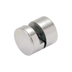 "CRL AEG114PS 1-1/4"" 316 Polished Stainless Steel Adjustable Edge Grip"