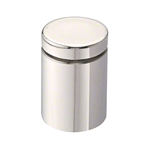 "CRL ABEG114PS 1-1/4"" Polished Stainless Single Sided Adjustable Barrel Edge Grip"