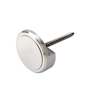 """CRL APC114BS Brushed Stainless 1-1/4"""" Panel Clip"""