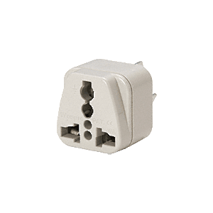 CRL AUWSS416 Universal Plug with Three Prongs - Australian