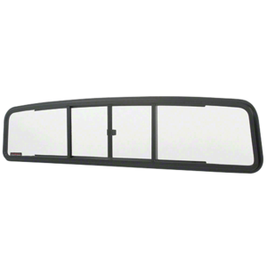 CRL TSW1450 Duo-Vent Four Panel Slider with Clear Glass for 1961-1966 Ford