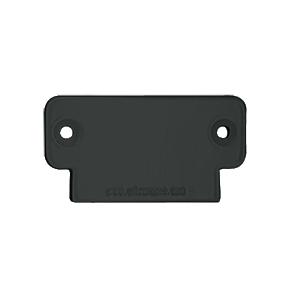 CRL 2DECBL Matte Black 200 Series Decorative End Cap