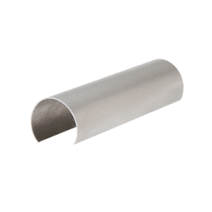 "CRL GR25CSS Stainless Steel 2-1/2"" Connector Sleeve for Cap Railing, Cap Rail Corner, and Hand Railing"