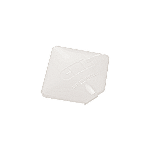 CRL PC9SW Sky White Square AWS Post Cap for 90 Degree Corner Post