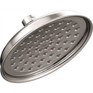 Cleveland Faucet Group 47401GR CFG 1-Spray 6 in. Fixed Round Rain Shower Showerhead in Chrome