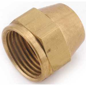 Anderson Metals 04014-08 1/2 in. Brass Flare Nut - pack of 10