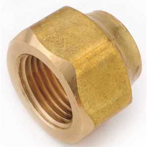 Anderson Metals 04019-06 3/8 in. Brass Flare Nut Forged Heavy